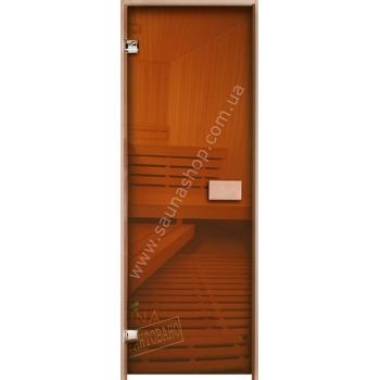 Двери для саун VALTE  700*1900 стекло прозрачное 8мм