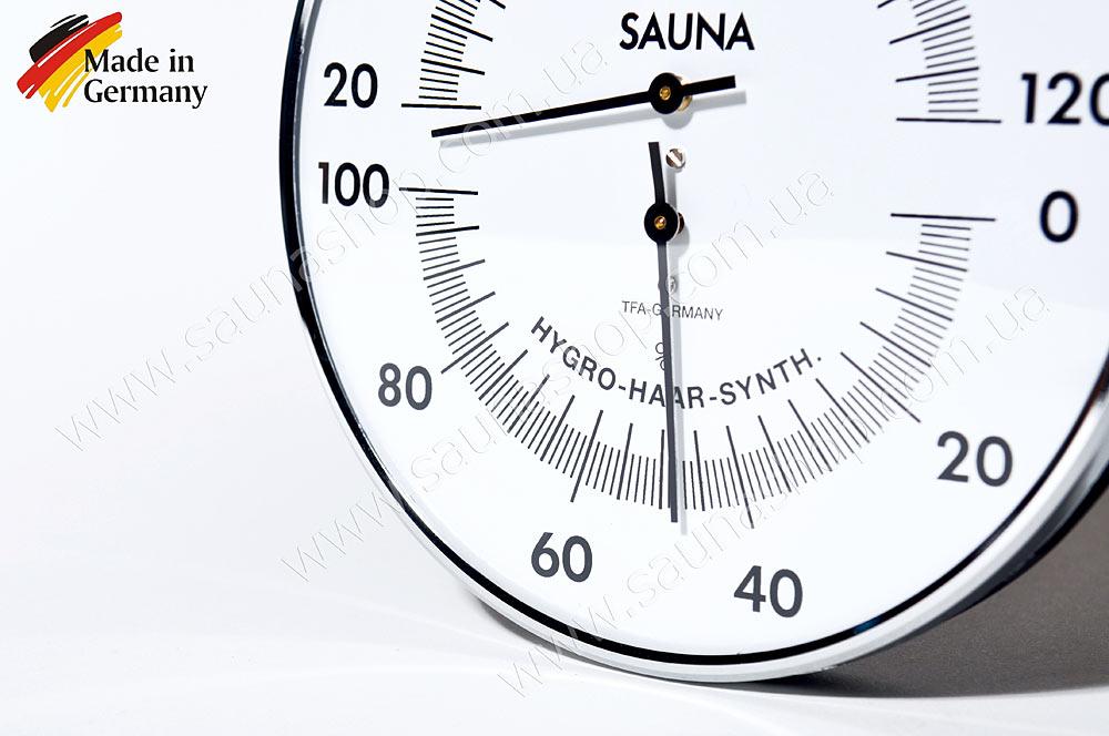 немецкий термогигрометр для бани, термогигометр для сауны купить, термогигрометры банные украина